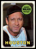 1969 Topps #633 Harry Walker MG EX Excellent