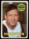 1969 Topps #633 Harry Walker MG VG Very Good