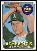 1969 Topps #638 Ed Sprague EX Excellent RC Rookie