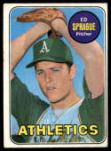 1969 Topps #638 Ed Sprague VG/EX Very Good/Excellent RC Rookie