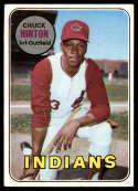 1969 Topps #644 Chuck Hinton VG Very Good