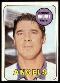 1969 Topps #645 George Brunet VG/EX Very Good/Excellent