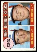 1969 Topps #646 Dan McGinn/Carl Morton Expos Rookies NM Near Mint RC Rookie