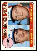 1969 Topps #646 Dan McGinn/Carl Morton Expos Rookies EX++ Excellent++ RC Rookie