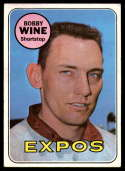 1969 Topps #648 Bobby Wine VG/EX Very Good/Excellent
