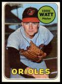 1969 Topps #652 Eddie Watt EX/NM