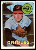 1969 Topps #652 Eddie Watt EX Excellent