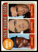 1969 Topps #654 Carlos May/Don Secrist/Rich Morales White Sox Rookies VG Very Good RC Rookie