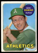 1969 Topps #655 Mike Hershberger VG/EX Very Good/Excellent
