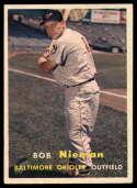 1957 Topps #14 Bob Nieman EX Excellent