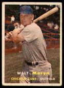 1957 Topps #16 Walt Moryn VG Very Good