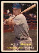 1957 Topps #16 Walt Moryn VG/EX Very Good/Excellent