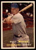 1957 Topps #16 Walt Moryn EX Excellent