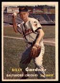1957 Topps #17 Billy Gardner EX Excellent
