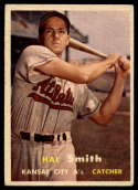 1957 Topps #41 Hal Smith VG/EX Very Good/Excellent