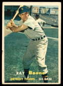 1957 Topps #102 Ray Boone VG Very Good