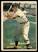 1957 Topps #102 Ray Boone EX Excellent