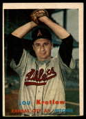 1957 Topps #139 Lou Kretlow VG/EX Very Good/Excellent
