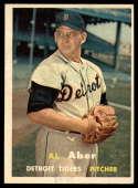 1957 Topps #141 Al Aber EX/NM