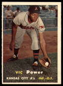 1957 Topps #167 Vic Power UER NM Near Mint