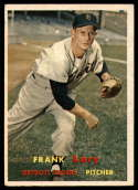 1957 Topps #168 Frank Lary UER EX Excellent