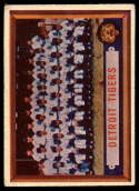 1957 Topps #198 Tigers Team VG/EX Very Good/Excellent