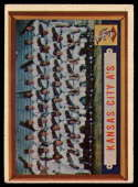 1957 Topps #204 Athletics Team VG/EX Very Good/Excellent