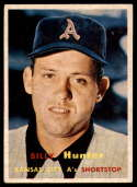 1957 Topps #207 Billy Hunter EX Excellent