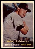 1957 Topps #238 Eddie Robinson EX Excellent