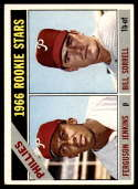 1966 Topps #254 Fergie Jenkins/Bill Sorrell Phillies Rookies VG/EX Very Good/Excellent RC Rookie