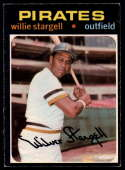1971 O-Pee-Chee #230 Willie Stargell VG/EX Very Good/Excellent