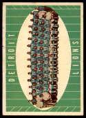 1961 Topps #37 Lions Team EX Excellent