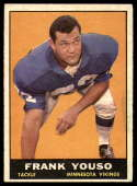 1961 Topps #82 Frank Youso EX Excellent