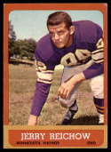 1963 Topps #101 Jerry Reichow EX Excellent