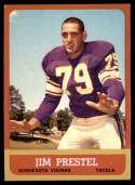 1963 Topps #108 Jim Prestel EX/NM