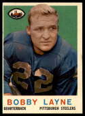 1959 Topps #40 Bobby Layne VG/EX Very Good/Excellent