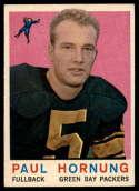 1959 Topps #82 Paul Hornung EX Excellent