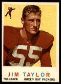 1959 Topps #155 Jim Taylor UER NM Near Mint RC Rookie