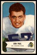 1954 Bowman #68 Don Paul NM Near Mint
