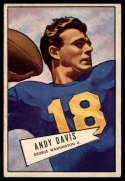 1952 Bowman Large #55 Andy Davis VG Very Good SP