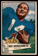 1952 Bowman Large #79 Bob Hoernschemeyer VG Very Good