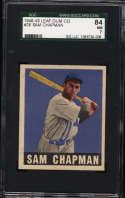 1948-49 Leaf #26 Sam Chapman SGC 84 7