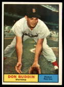 1961 Topps #99 Don Buddin UER EX/NM