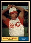 1961 Topps #110 Vada Pinson EX Excellent