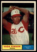 1961 Topps #110 Vada Pinson VG/EX Very Good/Excellent