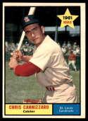 1961 Topps #118 Chris Cannizzaro EX/NM RC Rookie
