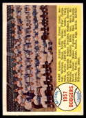 1958 Topps #71 Dodgers Team EX/NM