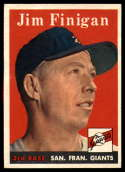 1958 Topps #136 Jim Finigan NM Near Mint