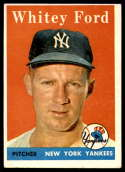 1958 Topps #320 Whitey Ford EX Excellent