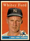 1958 Topps #320 Whitey Ford EX++ Excellent++